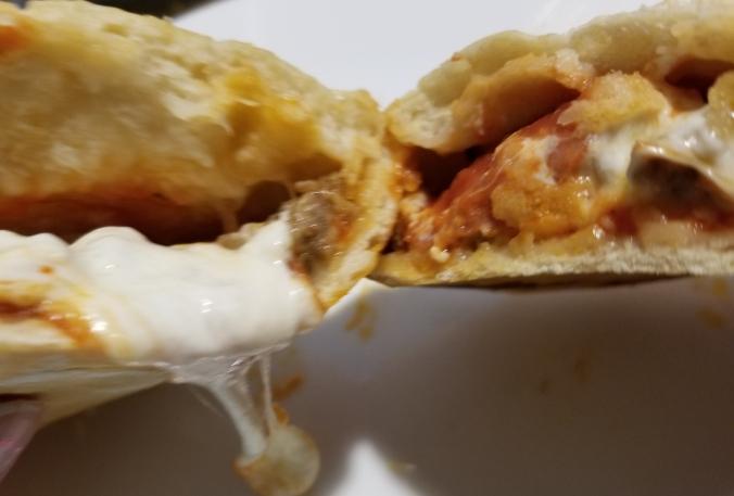 Sausage, Pepperoni, & Mozzarella Calzone