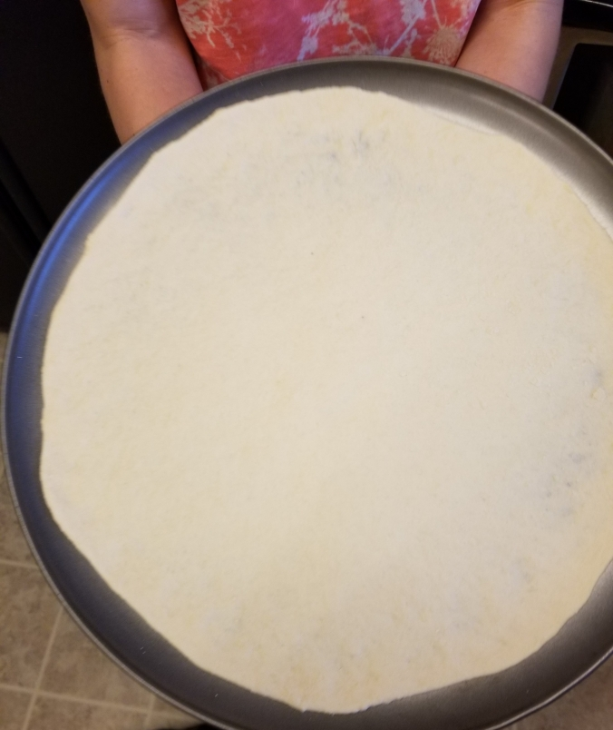 Thin Pizza Crust