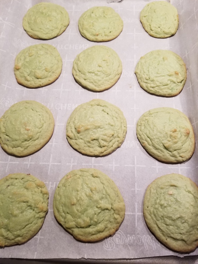 pistachio pudding cookies for ice cream sandwiches
