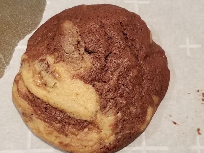 Chocolate Caramel Swirl Cookie
