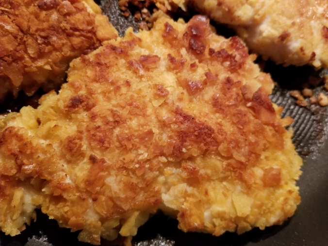 cheez-it coated chicken