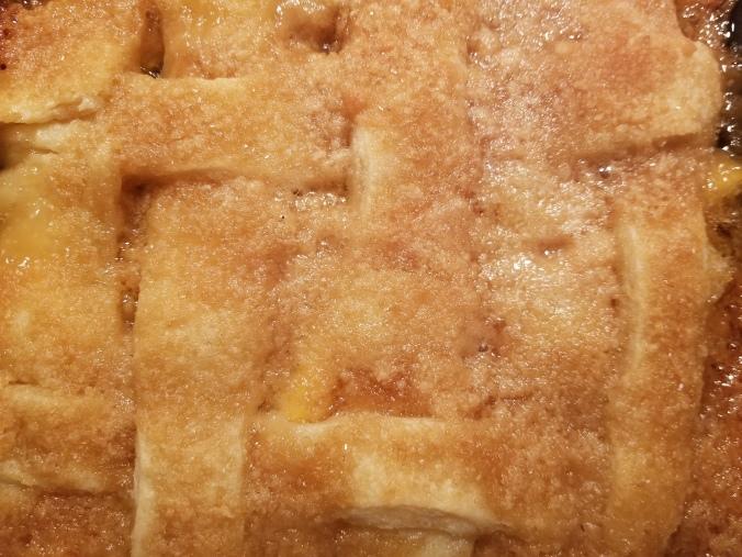 Crust & Crumb Peach Cobbler